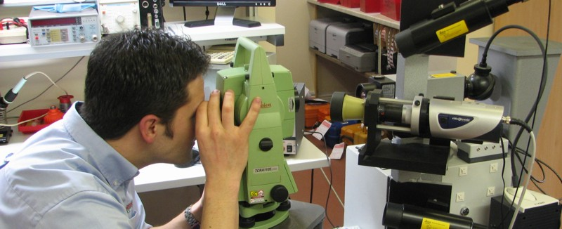 Survey Laser Repair Calibration