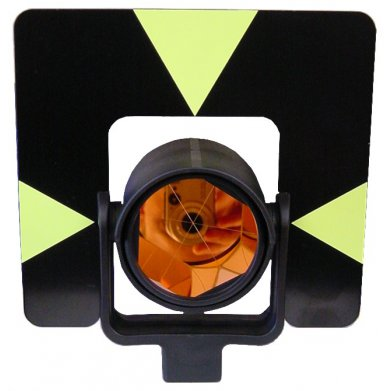 Holder shown with prism and target plate.