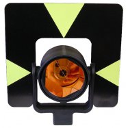 Prism displayed with additional prism components target plate and holder.