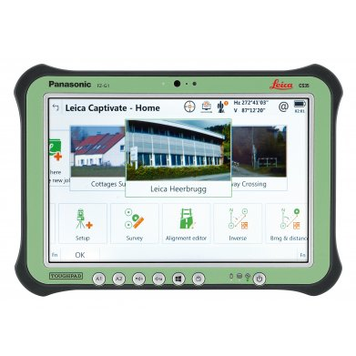Leica Viva CS35 Tablet Controller- front view