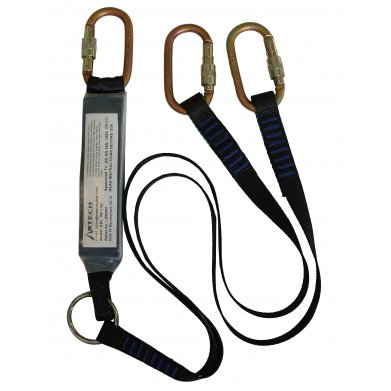 Abtech ABLTW1.5 Twin Shock Absorbing Lanyard