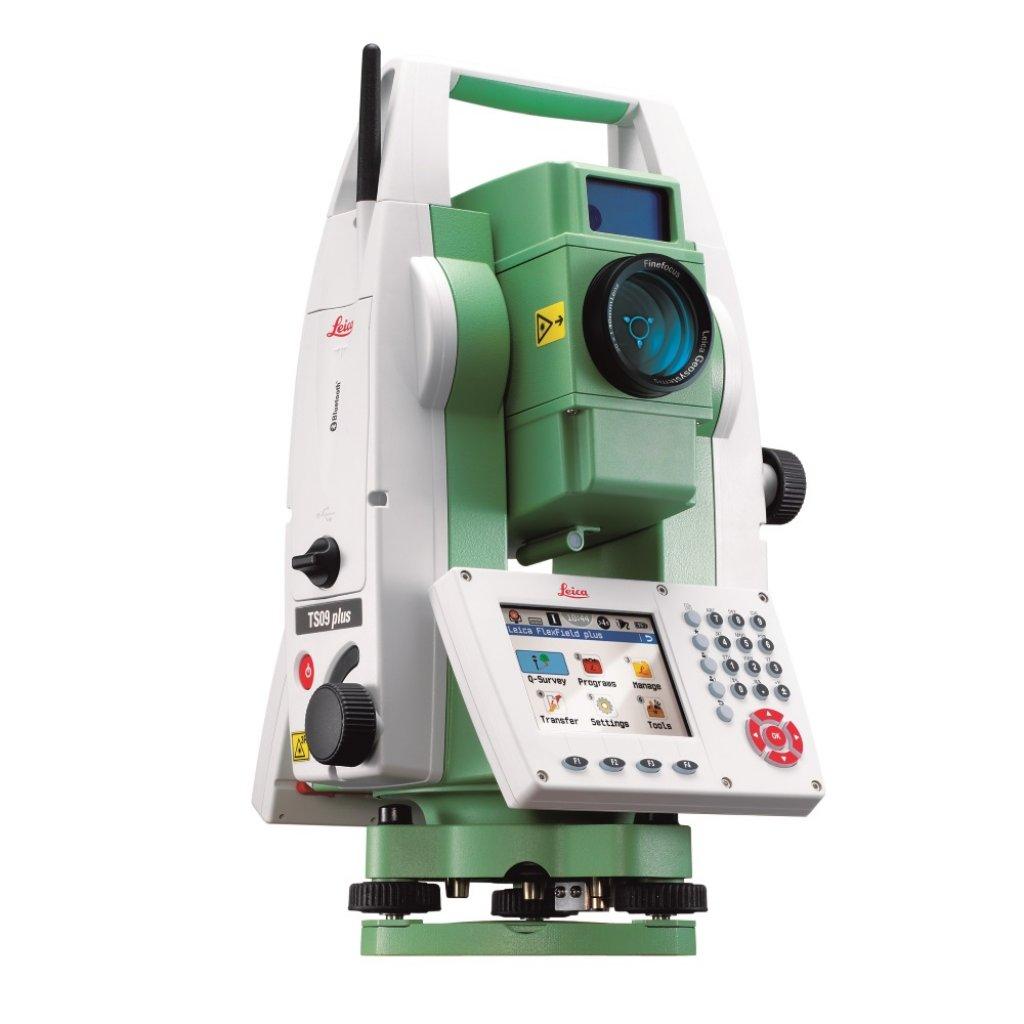 leica flexline ts09plus total station rh zenithsurvey co uk Robotic Total Station Leica 1203 Leica Survey Equipment