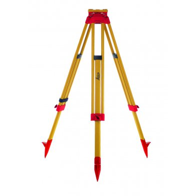 The Leica GTS05 Wooden Tripod is suitable for Theodolites, Total Stations and GPS/GNSS applications.