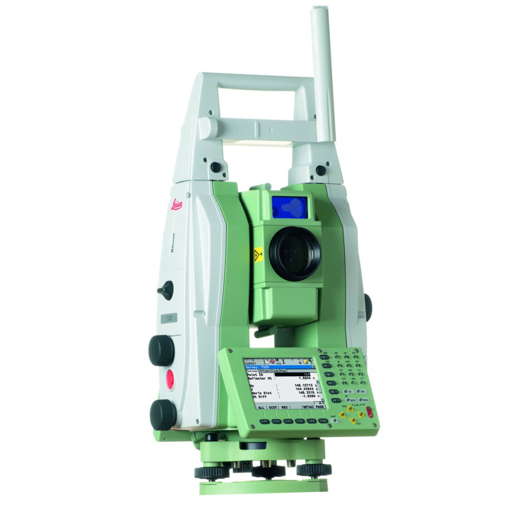 The Leica TS30 Precise Total Station is a very high accuracy model used for  monitoring applications